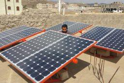 Abastecimiento de energía solar para Yemen