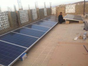 Energía solar para Yemen