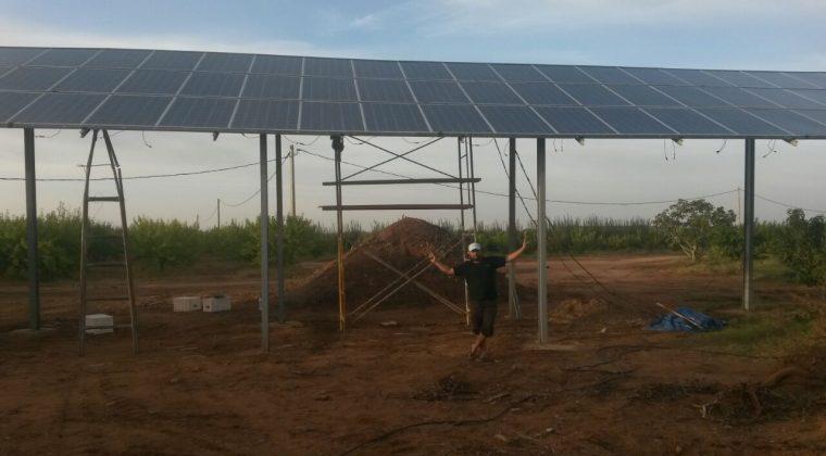 Instalaciones de bombeo solar en el norte de Marruecos