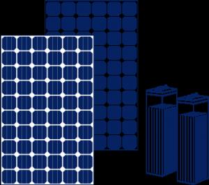 Kit de energía solar aislada
