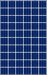 Panel solar 24v modelo SL 606