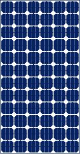 Panel solar de 24v modelo SL 725