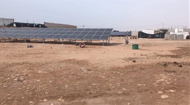 paneles solares sahara